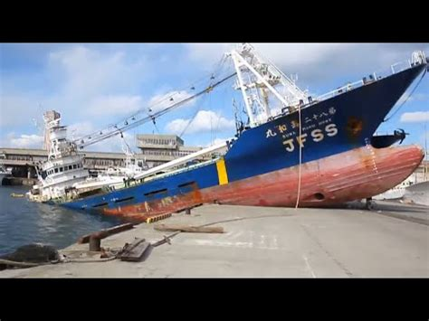 ship accident ship crash compilation youtube