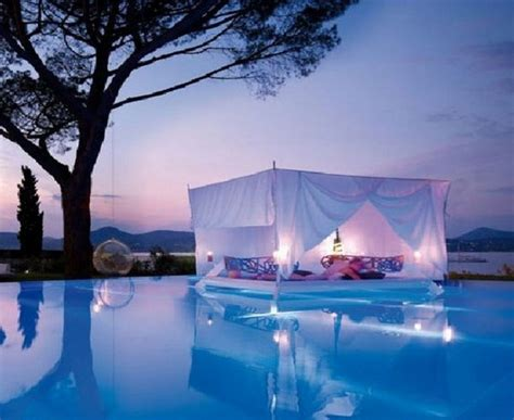 pool beds 30 outdoor canopy beds ideas for a romantic summer