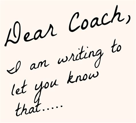 thank you letter to parents from coach coachup nation an open letter to coaches from parents