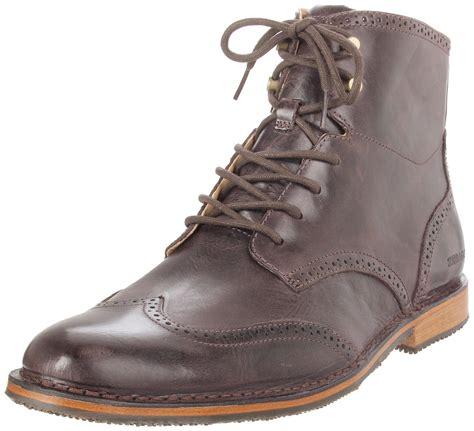 sebago boots mens sebago sebago mens hamilton lace up boot in brown for