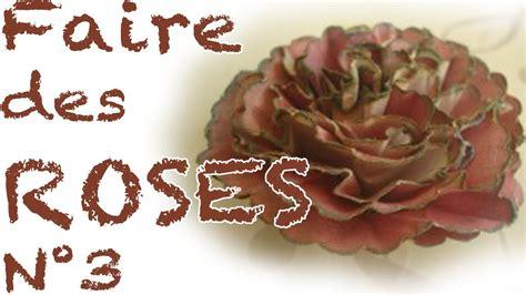 Comment faire des roses en papier n°3   YouTube
