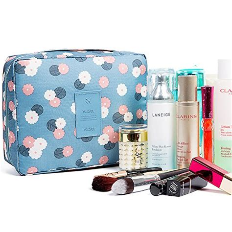 Pouch Organizer Travel Bag Versi 2 Flower Dks halova toiletry bag multifunction cosmetic bag portable makeup pouch waterproof travel hanging