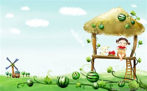 desktop themes cartoons cartoon wallpapers for kids 9