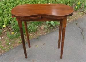 kidney shaped vanity table vintage wood kidney shaped vanity table dressing table sewing