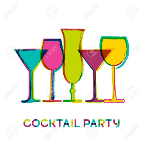 mixed drink clip cocktail menu clipart