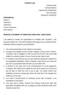 Contract Of Employment Uk Template by 14 Hr Contract Templates Hr Templates Free Premium