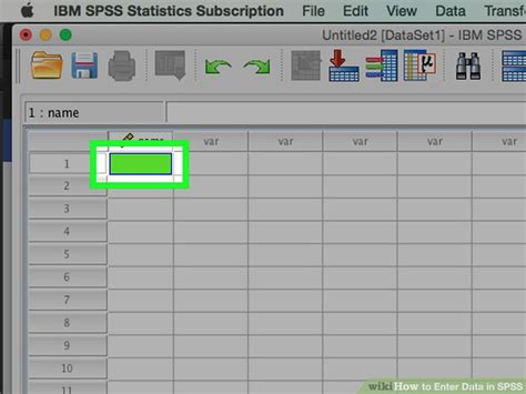 spss tutorial input data how to enter data in spss 8 steps with pictures wikihow