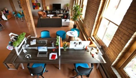Cool Workspaces by 10 Office Design Tips To Foster Creativity Workspaces