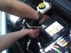 Peugeot Boxer Battery 308 Peugeot 1 4l Vti Batterie Demontage