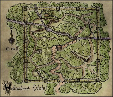 Best Quality Map A4 Bunga Murah map 26 willowbrook estate elven tower