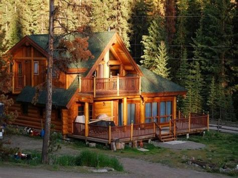 cabin house back yard log cabin big log cabin house cabin dream homes