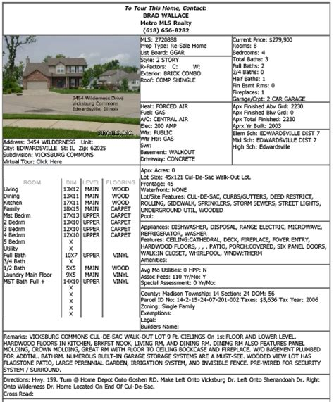 house specification sheet search for edwardsville homes for sale