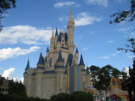 disney wallpaper orlando known places disney castle created by visionfez picture