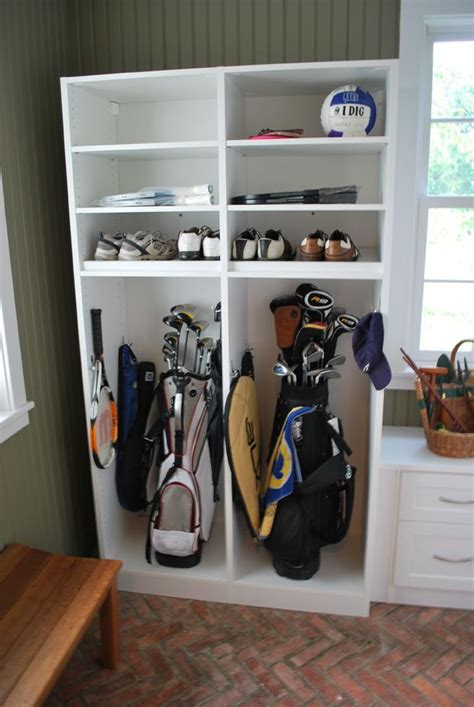 golf club storage rack garage