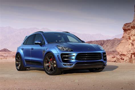 Gallery Blue Topcar Porsche Macan Gtspirit