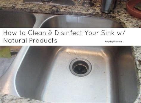 how to disinfect stainless steel kitchen sink 7 best cleaning images on cleaning hacks