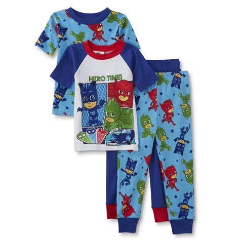 Pj Pj Pajamas disney pj masks toddler boys 2 pairs pajamas