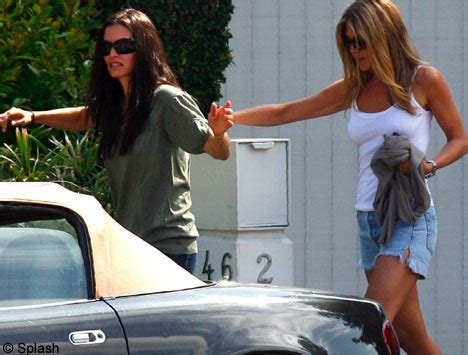 Jen Vince On Again by Best Of Friends Aniston And Courteney Cox Hit