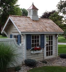 25 best ideas about cottage garden sheds on