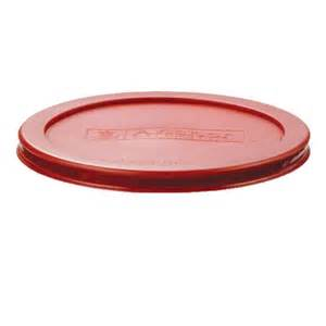 Red Canister Sets Kitchen by Anchor Hocking Red Lid For 7 Cup Kitchen Storage Round