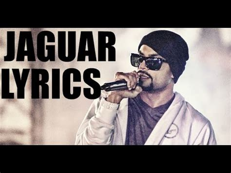 bohemia new song jaguar lyrics bohemia jaguar lyrics sukhe youtube