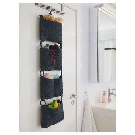 Nordrana Hanging Storage Grey Ikea Bathroom Hanging Storage