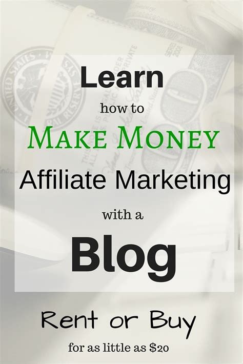 i am money affiliate marketing with my you