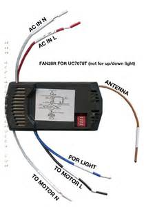 Ceiling Fan Receiver Replacement Hton Bay Redington Fan Wiring Diagram With Receiver