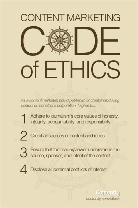 Journalism Code Of Ethics by The Cmo S Guide To Brand Journalism Code Of Ethics