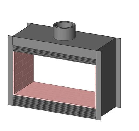 Revit Fireplace by Revitcity Object Sided Fireplace