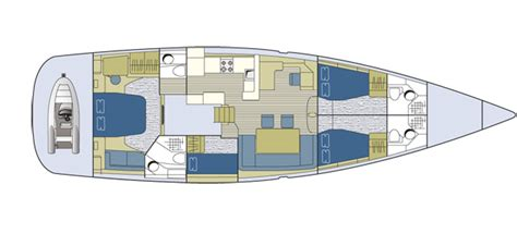 Cabin Floor Plans Small Jeanneau 64 Boat Test Yachting World