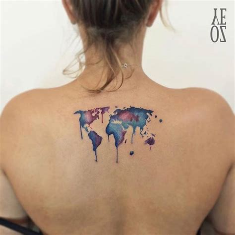 watercolor tattoo ideas for women 2016 3