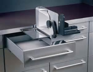 brotschneidemaschine schublade ritter aes 62 sr einbau schubladen allesschneider klappbar