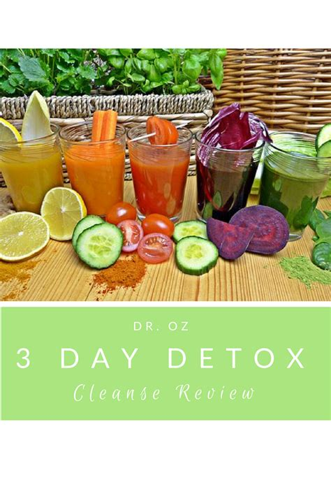 30 Day Faith Detox Review by Dr Oz 3 Day Detox Cleanse Review A Hundred Affections