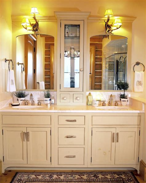 Ideas For Bathroom Vanities And Cabinets | bath cabinets as vanity and functional bathroom elements