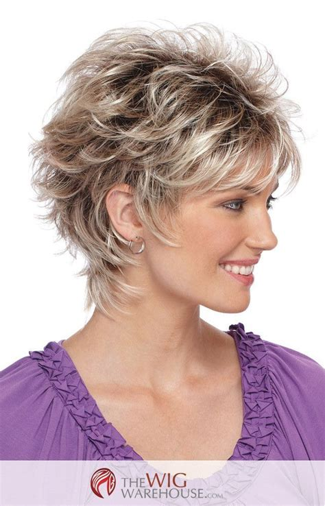 short shaggy point cut hair the spunky christa by estetica designs features a short