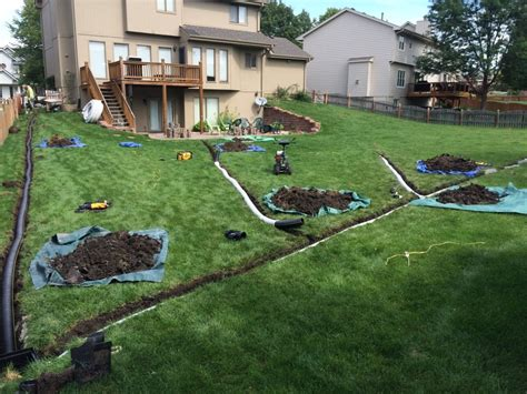 drainage in backyard backyard yard drainage contractors installing a drainage system in your yard how to