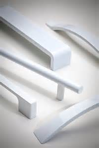 Contemporary Handles For Kitchen Cabinets - atlas a839 wg high white gloss cabinet hardware