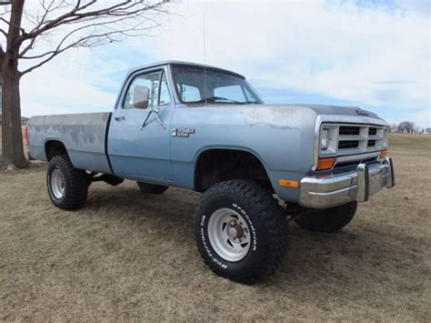 86 dodge ram for sale 1986 dodge ram 250 2500 power wagon charger 1987 1988 1989