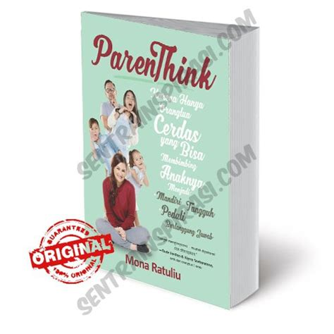 Buku Baru Positive Parenting jual beli parenthink by mona ratuliu baru buku parenting harga murah