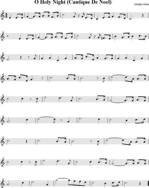 printable sheet music for o holy night o holy night free violin sheet music