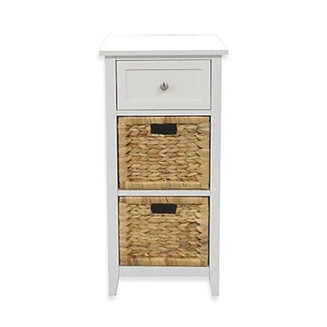 bathroom floor cabinets with drawers 3 drawers bathroom floor cabinet in white bed bath beyond