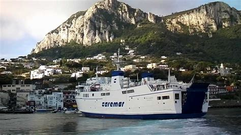 ferry naples to capri ferry ride from naples to capri by jonfromqueens youtube