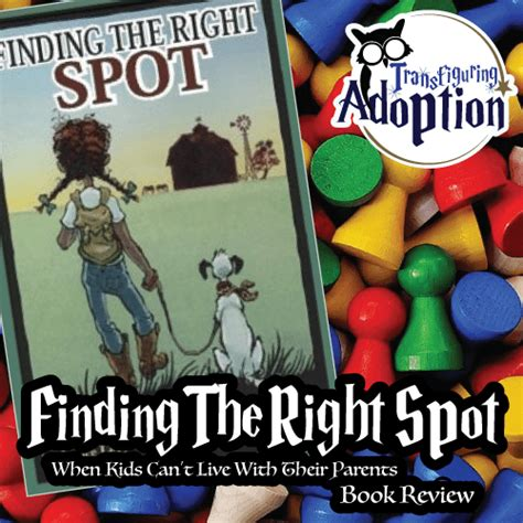 Book Review The Spot By Bank by Finding The Right Spot Book Review Transfiguring Adoption