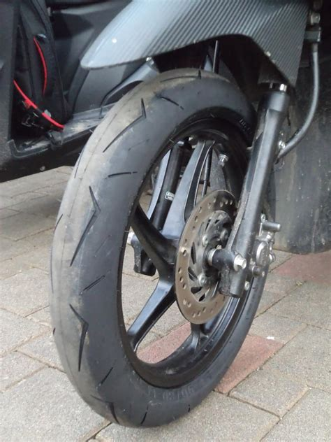 Ban Mizzle M66 80 Per 80 14 Tubeless Matic jual ban racing mizzle mr01 90 80 ring 14 mr1 mr one ledeng motor bandung