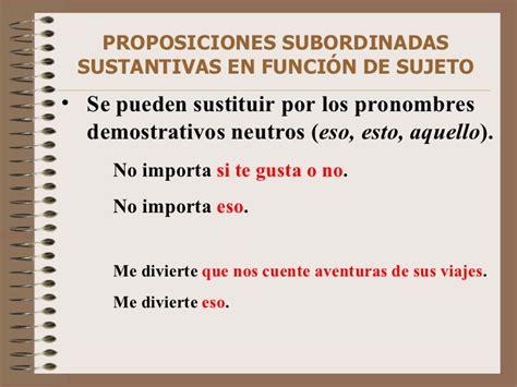 videoblog sintaxis f cil ejercicios de oraciones subordinadas oraciones subordinadas sustantivas de sujeto oraciones