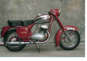 Motorrad Jawa by Oldtimer Gallery Motorcycles Jawa