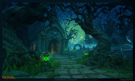 graveyard by minola belka on deviantart