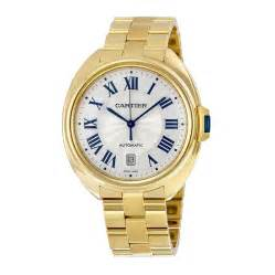cartier cle silvered flinque 18kt yellow gold s