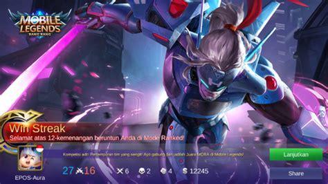 Murah Kaos Mobile Legend Hayabusa Smile 1 jual jual akun mobile legends murah gm epic dari bizzerkill store itemku